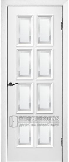Дверь Лондон 29-8 ПО Эмаль белая