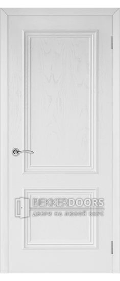 Дверь Валенсия 4 ПГ Эмаль белая