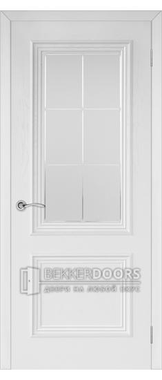 Дверь Валенсия 4 ПО Эмаль белая
