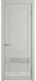 Дверь К1 ПГ Эмаль светло-серая