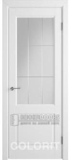 Дверь К1 ПО Эмаль белая