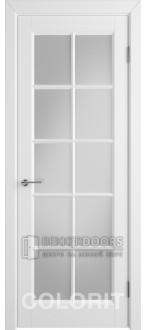 Дверь К3 ПО Эмаль белая