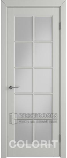 Дверь К3 ПО Эмаль светло-серая