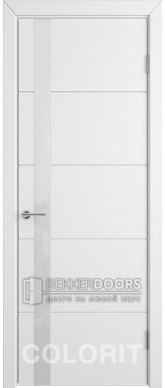 Дверь К4 ПО Эмаль белая