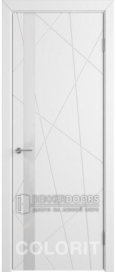 Дверь К5 ПО Эмаль белая