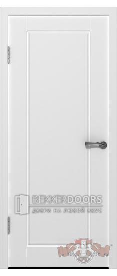 Дверь 20ДГ0 Порта Эмаль белая
