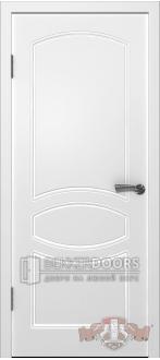 Дверь 23ДГ0 Родена  Эмаль белая