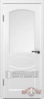 Дверь 23ДО0 Родена Эмаль белая