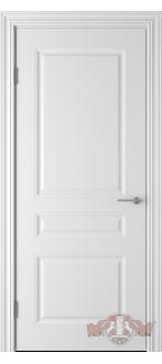 Дверь 68ДГ0 Стелла  Эмаль белая