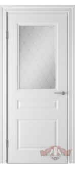 Дверь 68ДО0 Стелла  Эмаль белая