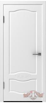 Дверь 47ДГ0 Прованс-2  Эмаль белая