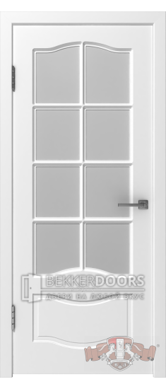 Дверь 47ДО0 Прованс-2  Эмаль белая