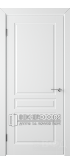 Дверь 56ДГ0 Стокгольм Эмаль белая