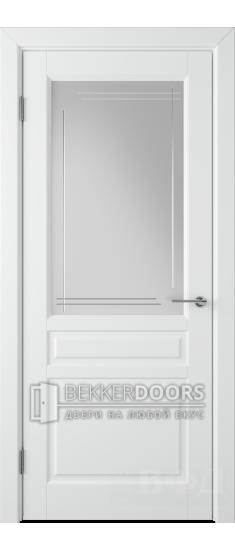 Дверь 56ДО0 Стокгольм Эмаль белая