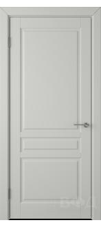Дверь 56ДГ02 Стокгольм Эмаль светло-серая