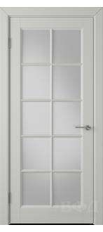 Дверь 57ДО02 Гланта Эмаль светло-серая