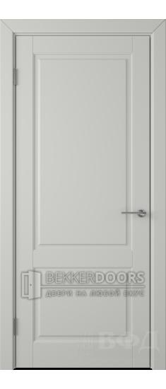 Дверь 58ДГ02 Доррен  Эмаль светло-серая