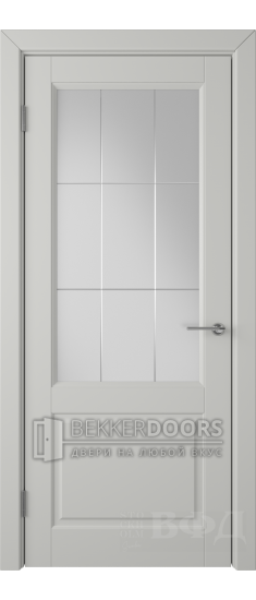 Дверь 58ДО02 Доррен Эмаль светло-серая