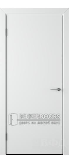 Дверь 59ДГ0 Ньюта Эмаль белая