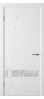 Дверь 26ДГ0 Флитта Эмаль белая
