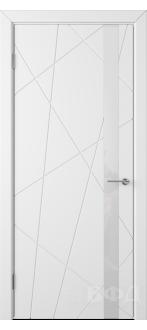 Дверь 26ДО0 Флитта Эмаль белая