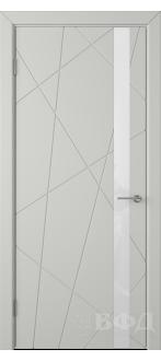 Дверь 26ДО02 Флитта Эмаль светло-серая