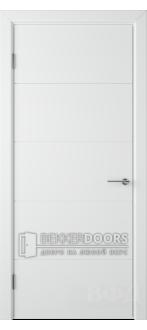 Дверь 50ДГ0 Тривиа  Эмаль белая