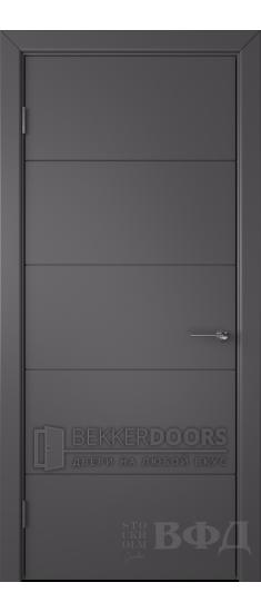 Дверь 50ДГ06 Тривиа Эмаль графит