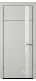 Дверь 50ДО02 Тривиа Эмаль светло-серая