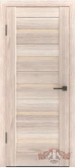 Дверь Л1ПГ1 Капучино Стекло бежевое
