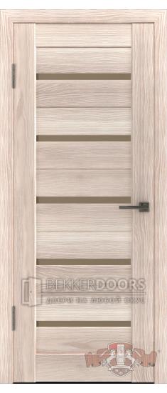 Дверь Л1ПГ1 Капучино Стекло бронза