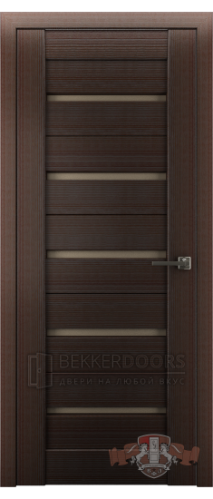 Дверь Л1ПГ4 Венге Стекло бронза