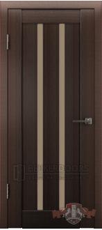 Дверь Л2ПГ4 Венге Стекло бронза
