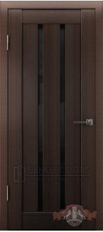 Дверь Л2ПГ4 Венге Стекло ультра черное