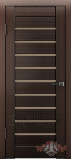 Дверь Л3ПГ4 Венге Стекло бронза