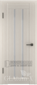 Дверь ПО GLAtum X2 Беленый дуб