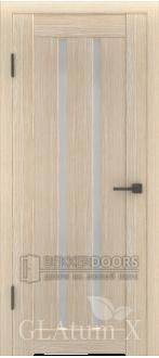 Дверь ПО GLAtum X2 Капучино
