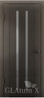 Дверь ПО GLAtum X2 Серый дуб