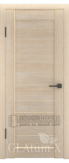 Дверь ПГ GLAtum X6 Капучино