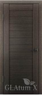Дверь ПГ GLAtum X6 Серый дуб