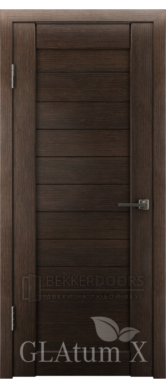 Дверь ПГ GLAtum X6 Венге