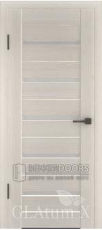 Дверь ПО GLAtum X7 Беленый дуб