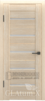 Дверь ПО GLAtum X7 Капучино