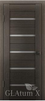 Дверь ПО GLAtum X7 Серый дуб