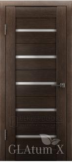 Дверь ПО GLAtum X7 Венге