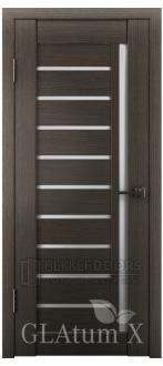 Дверь ПО GLAtum X11 Серый дуб