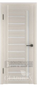 Дверь ПО GLAtum X11 Беленый дуб