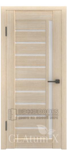 Дверь ПО GLAtum X11 Капучино