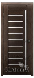 Дверь ПО GLAtum X11 Венге