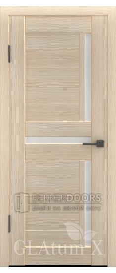 Дверь ПО GLAtum X16 Капучино